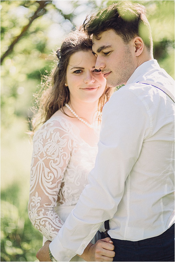 wedding in Provencal Beauty - Lovely Couple on French Wedding Style