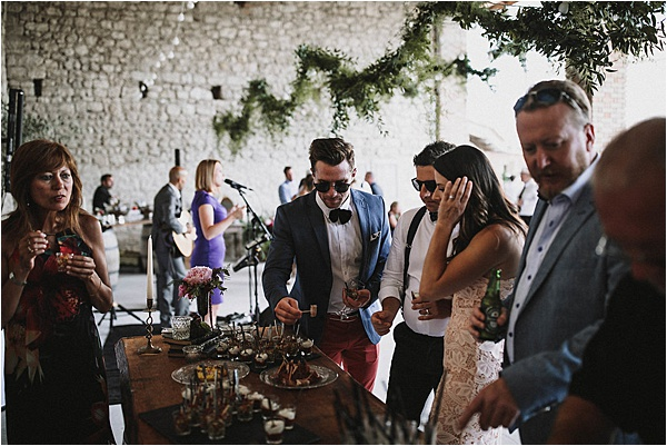 Couple Guests at wedding in Vaucluse France