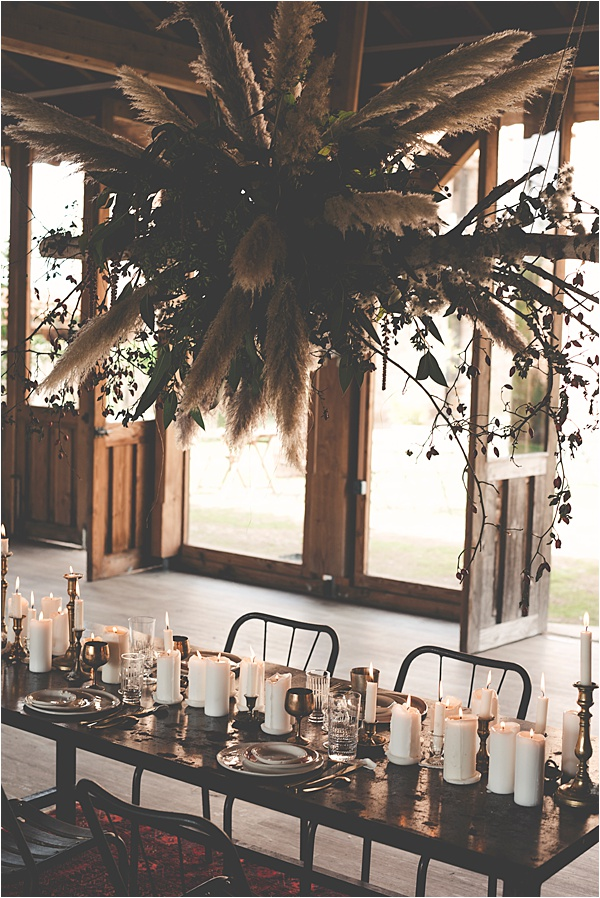 Industrial Candlelit Dinner for 2019 Wedding Trends
