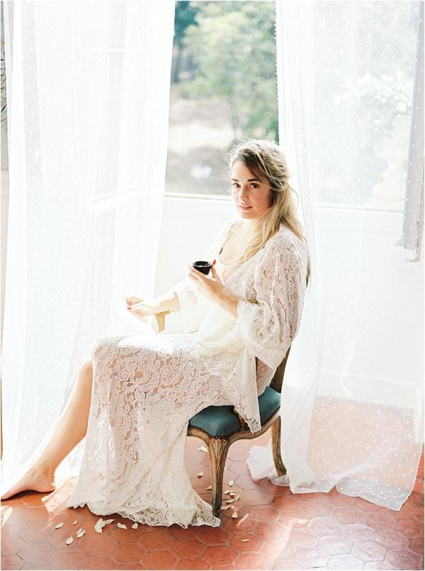 Aurelie Mey Bride - Long Lace Kimono