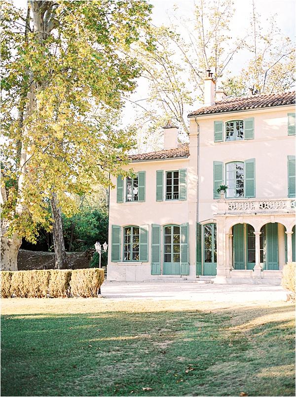 Aurelie Mey Bride - Venue in South France