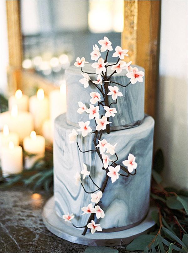 Aurelie Mey Bride - Sakura Flowers Inspired Cake