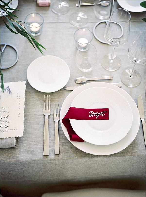 Aurelie Mey Bride - Calligraphed Guest Name
