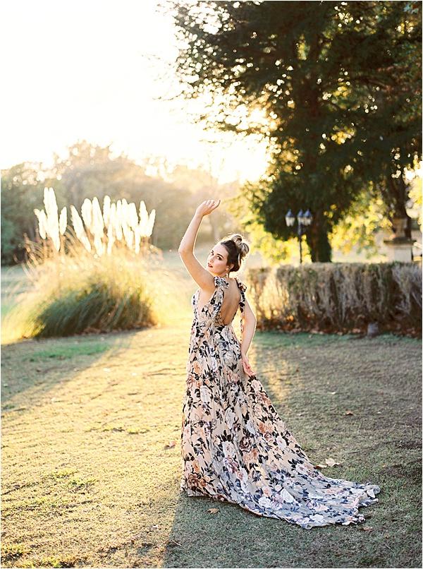 Aurelie Mey Bride - Flowery Wedding Gown