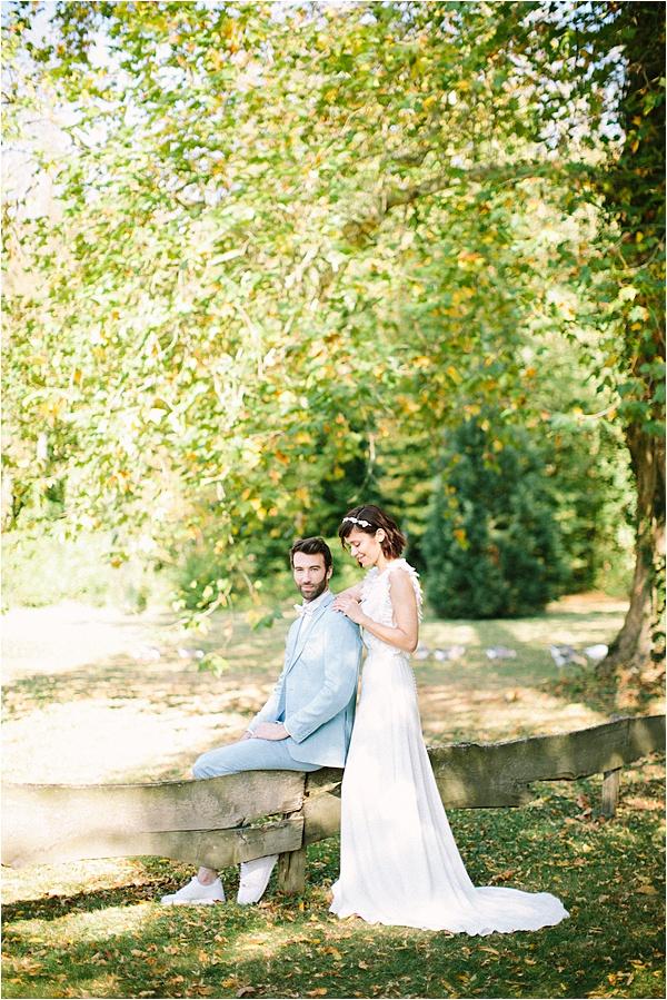 Château de Verderonne wedding Couple