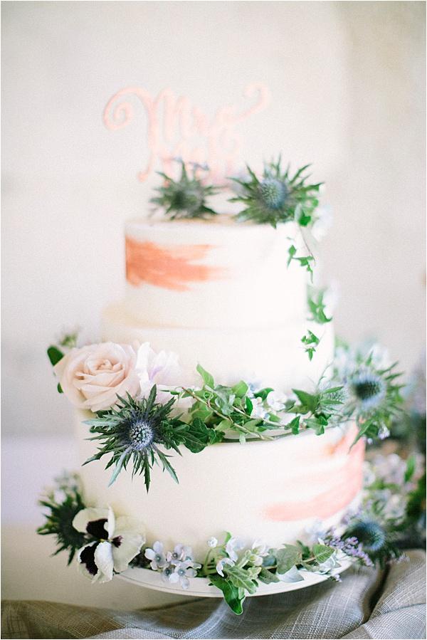 Château de Verderonne wedding Cake