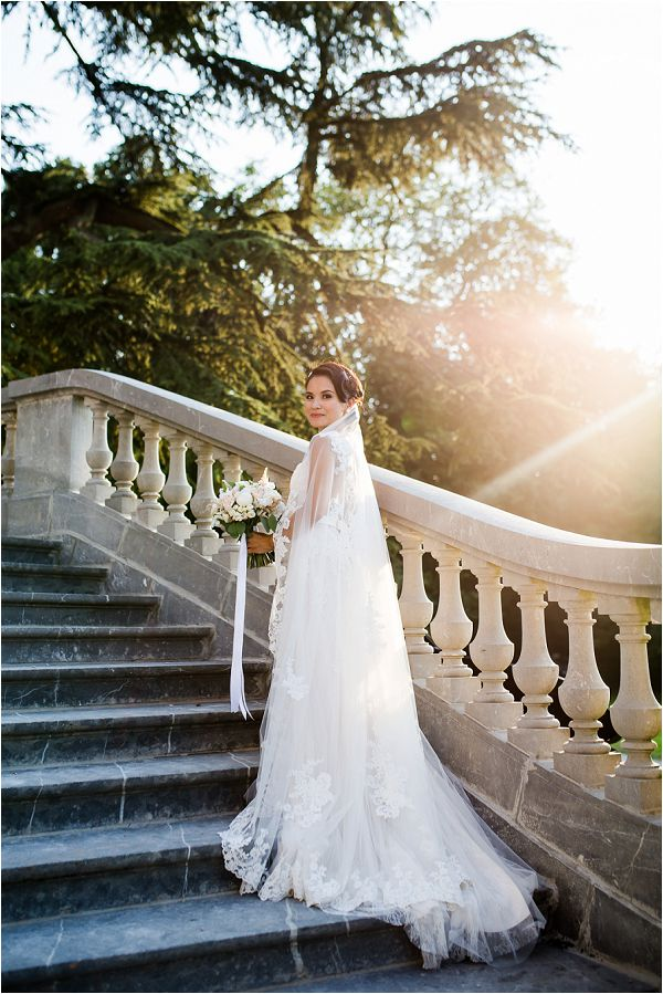 Chateau Bouffemont sun kissed real bride