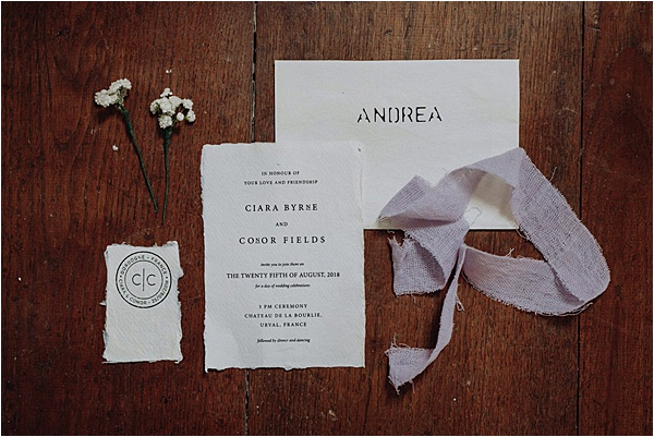 Cymbeline wedding dress - Originally Made Stationery on French Wedding Style