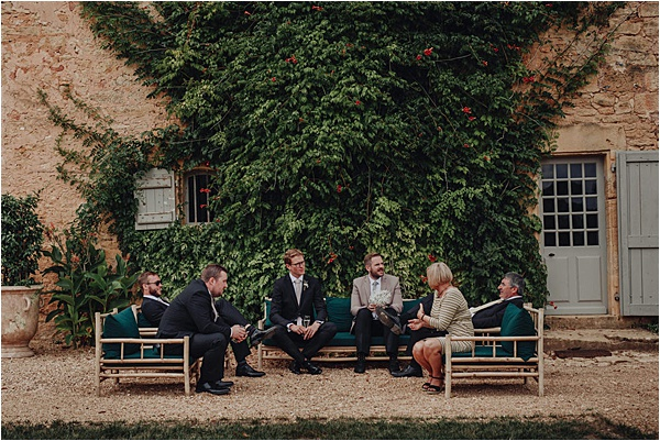 Cymbeline wedding dress - Stunning Groomsmen on French Wedding Style