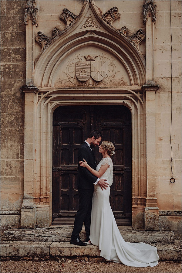 Cymbeline wedding dress - Local Couple on French Wedding Style