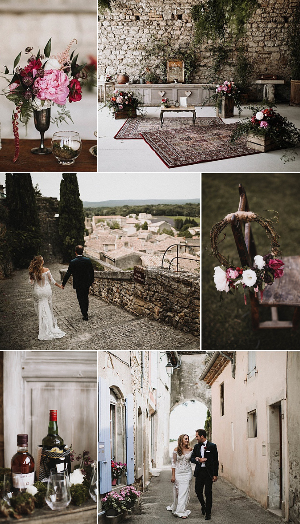 wedding in Vaucluse France Snapshot