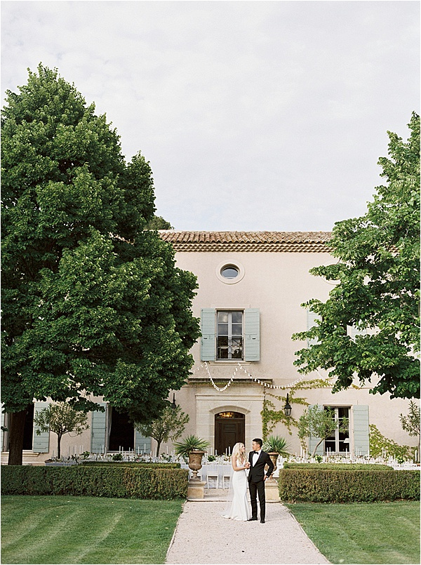 Fine Art French Wedding - Magnificent Castle on French Wedding Style
