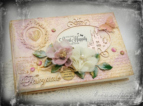 Floral Wedding Cinderella Guest book