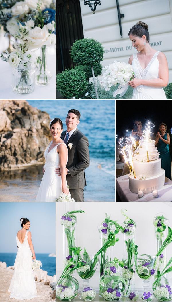 Grand Hôtel du Cap Ferrat Wedding Snapshot