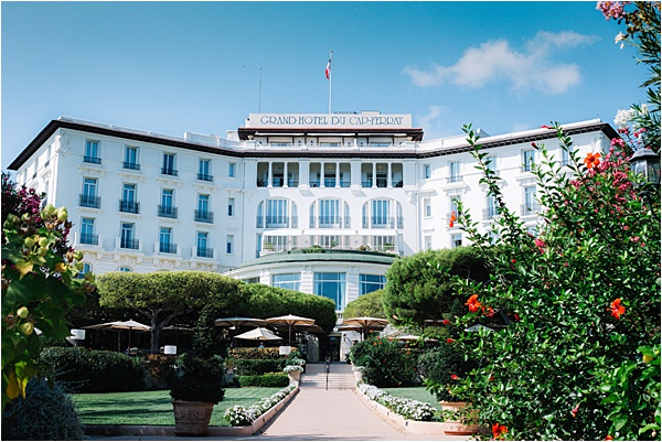 Grand Hôtel du Cap Ferrat Wedding Palace
