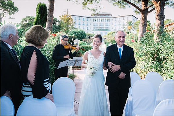 Grand Hôtel du Cap Ferrat Wedding Entourage