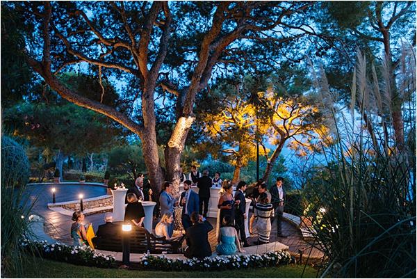 Grand Hôtel du Cap Ferrat Wedding Dining Area