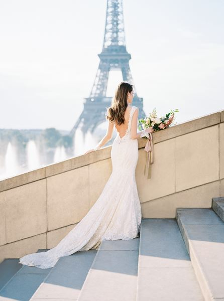 Jennifer Fox Weddings Elopement in Paris