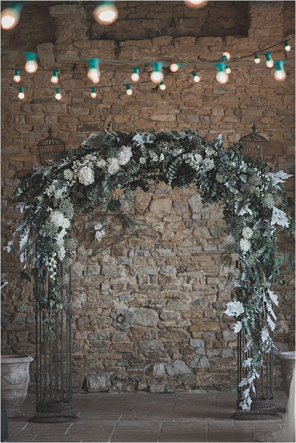 Normandy wedding Arch