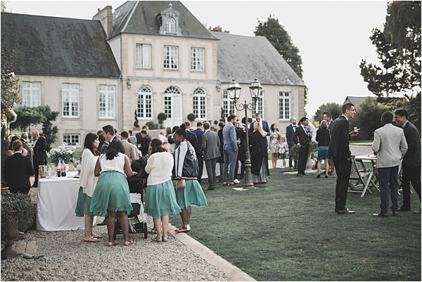 Normandy wedding Guests