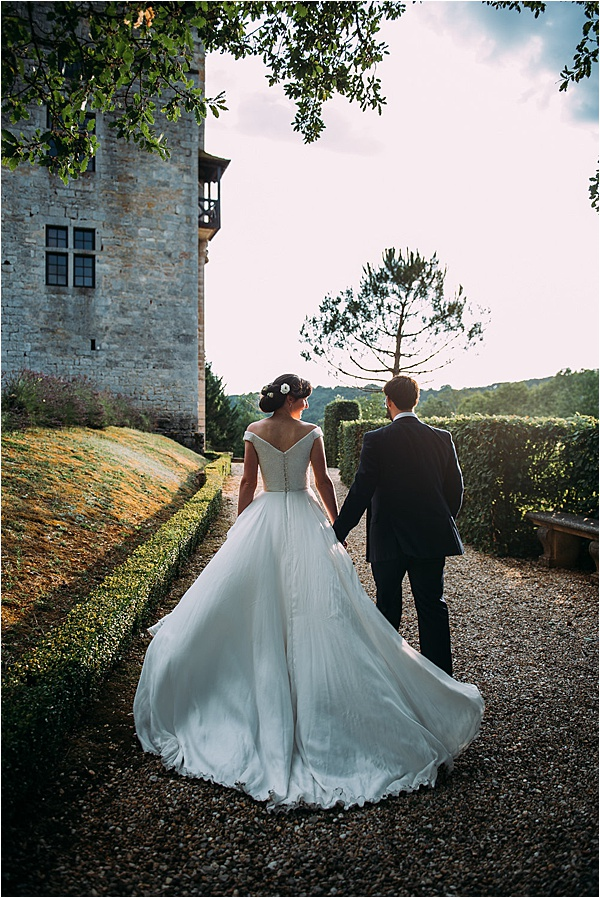 Stephanie Allin wedding dress - Local Couple