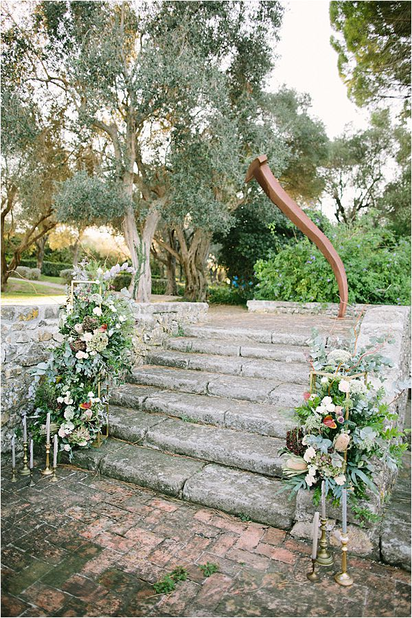Wedding at Bastide du Roy Provence rustic lawn