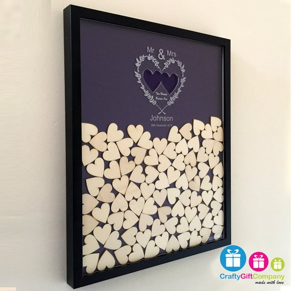 Wedding drop box guest book