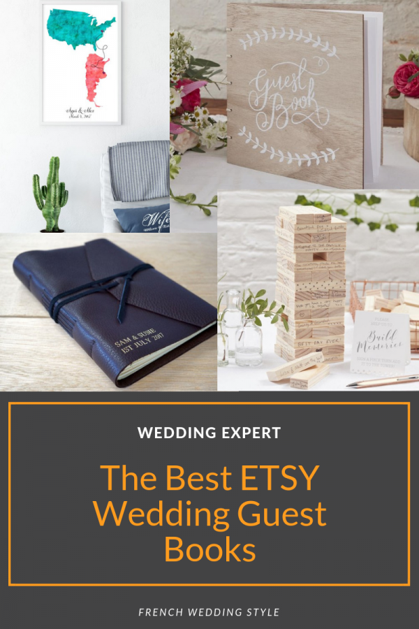 best etsy wedding guest books