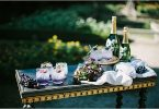 beverage corner Wedding at Bastide du Roy Provence