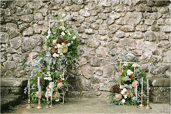 brick wall as background in Wedding at Bastide du Roy Provence