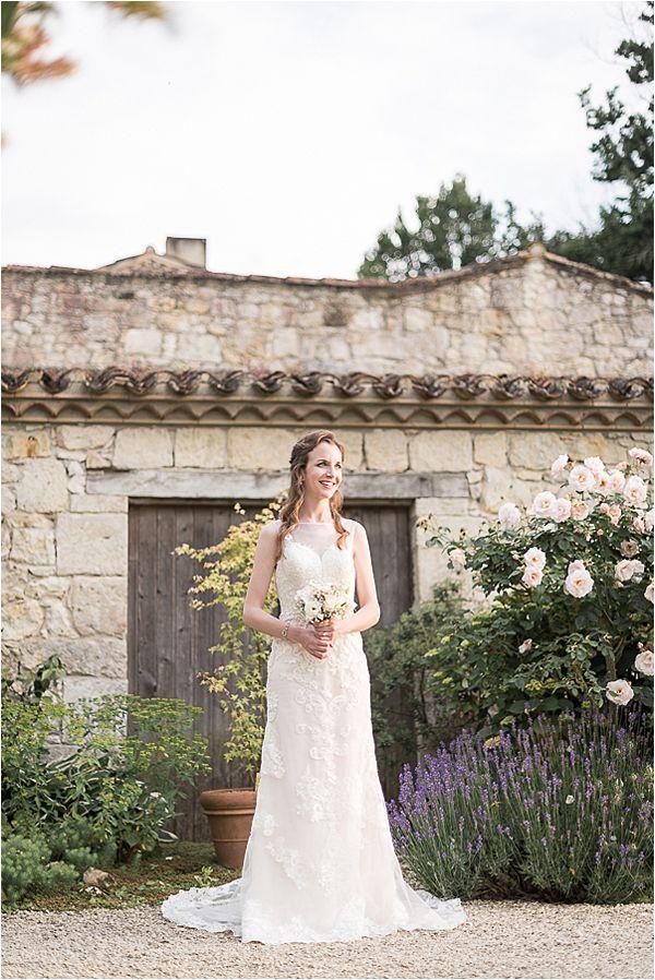 bride at Destination Wedding Planning in Gascony