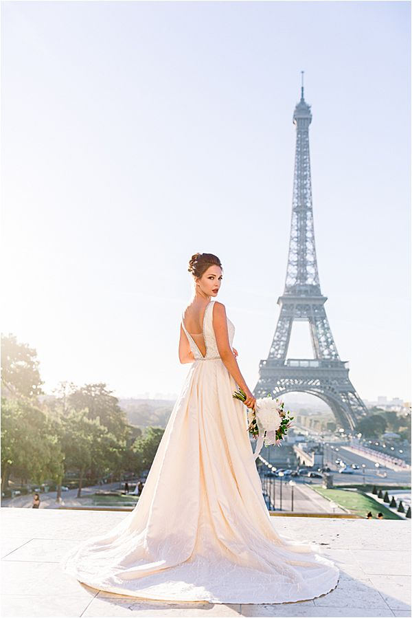 captivating view at Bridal Photography in Paris