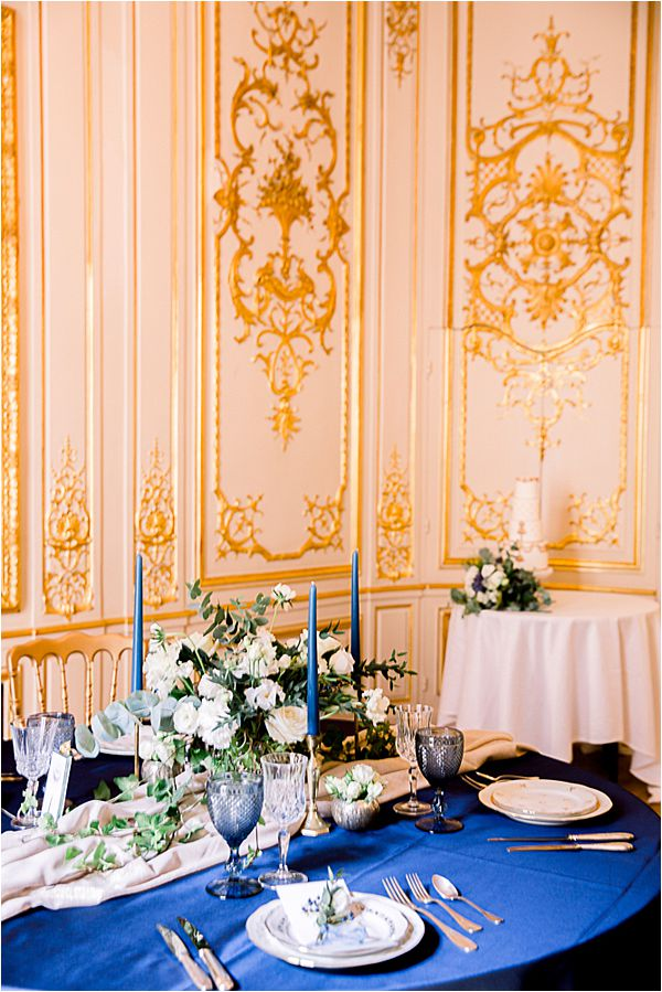 elegant place at Winter Wedding in Paris