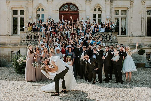finally wedded Chateau de la Valouze