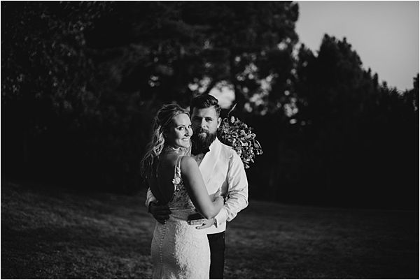 gorgeous couple at Chateau de la Valouze
