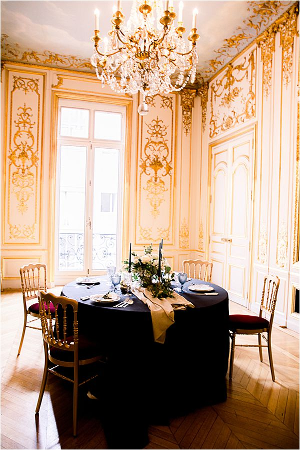 grandiose venue at Winter Wedding in Paris