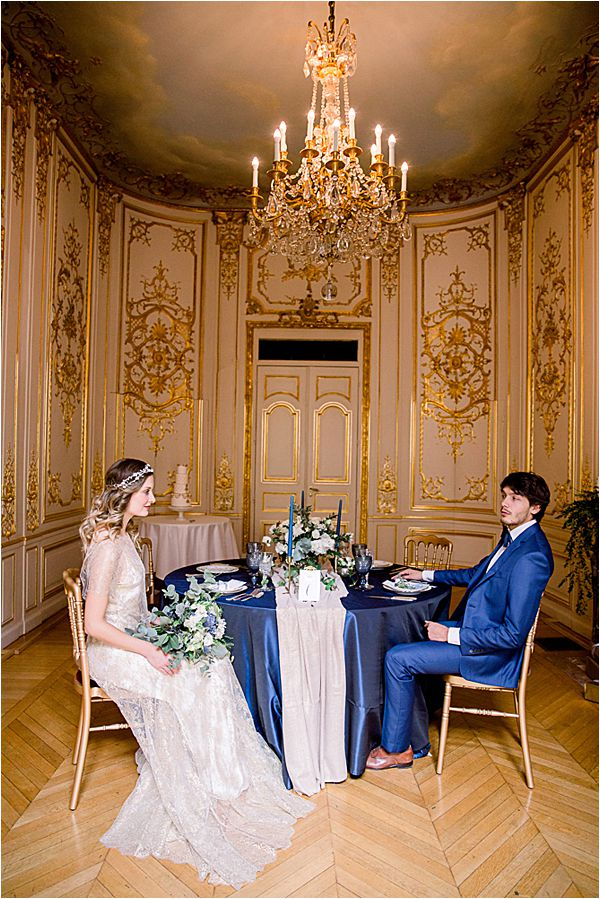magnificent place at Winter Wedding in Paris