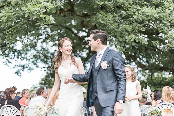 newly married couple at Destination Wedding Planning in Gascony