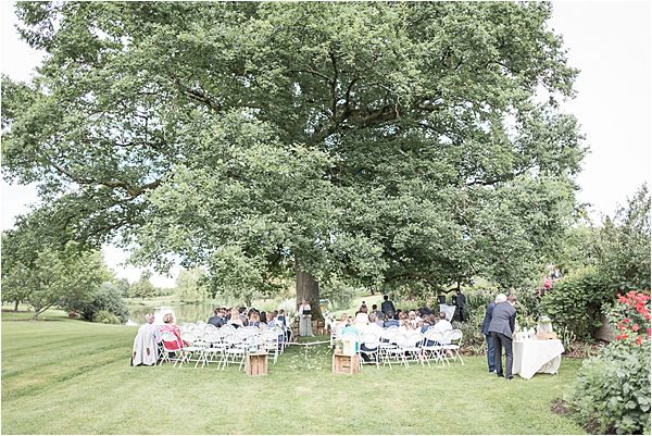 outdoor ceremony at Destination Wedding Planning in Gascony