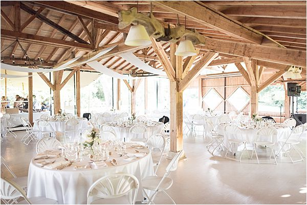 reception hall at Destination Wedding Planning in Gascony