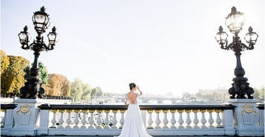 spectacular view at Bridal Photography in Paris