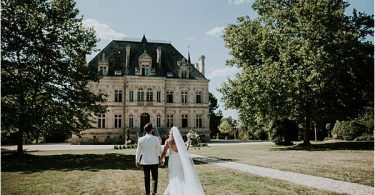 stunning venue at Chateau de la Valouze