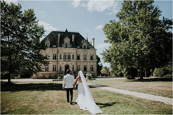 stunning venue at Chateau de la Valouze