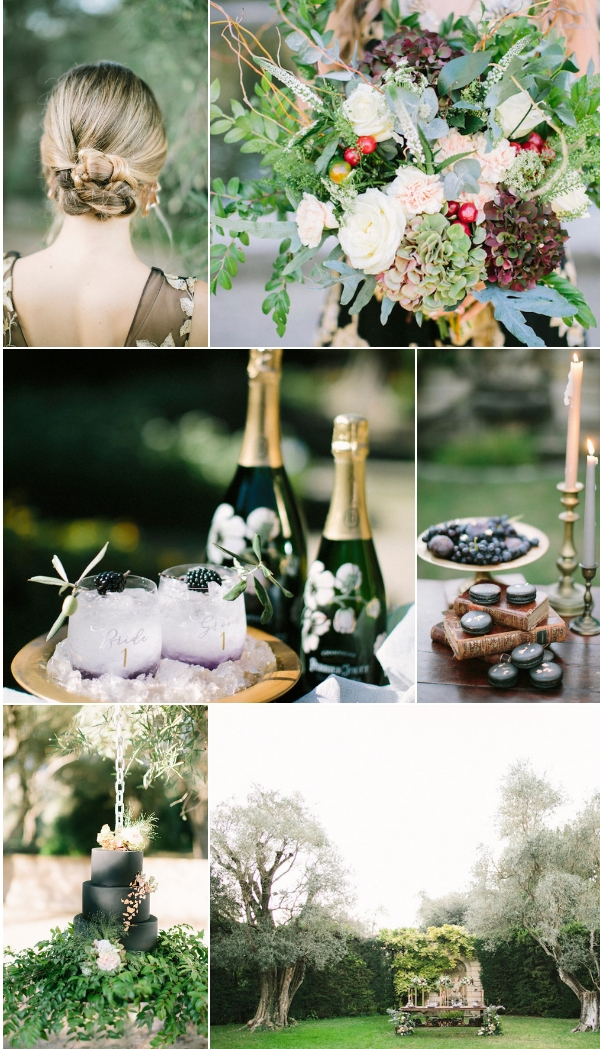 wedding at Bastide du Roy Provence snapshot