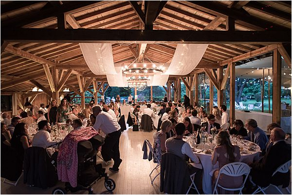 wedding dinner at Destination Wedding Planning in Gascony