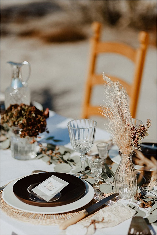 wedding in Brittany Table Decor