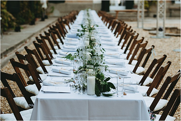 wedding in Pezenas - Table Setup