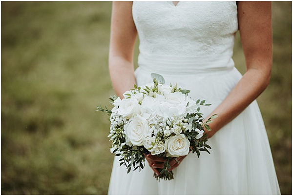 Brides Bouquet Wedding in Alsace