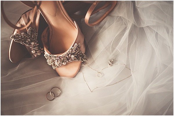Chateau Wedding in Provence Bridal Shoes