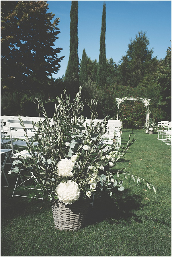 Chateau Wedding in Provence Floral Designs